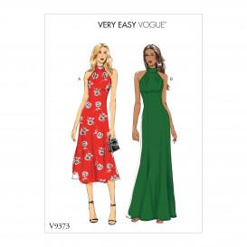 patron occasion spéciale robe Vogue V9373