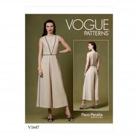 patron combinaison Vogue V1647