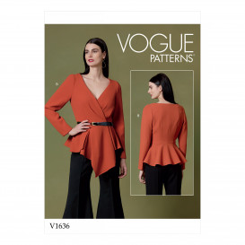 patron hauts Vogue V1636
