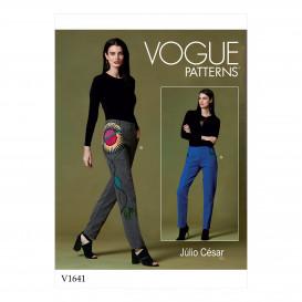 patron pantalon fuseau Vogue V1641