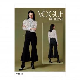 patron pantalon Vogue V1640