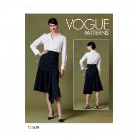 patron jupe Vogue V1638