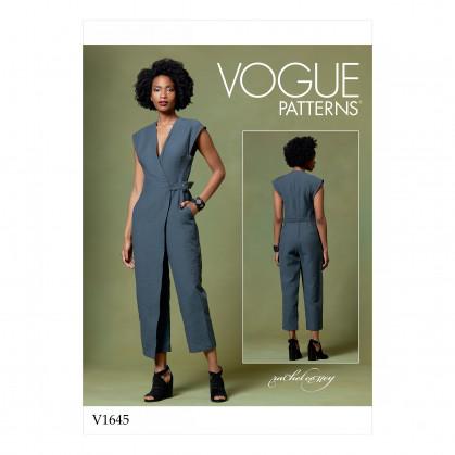 patron combinaison Vogue V1645