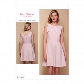 patron robe ajustée Vogue V1623