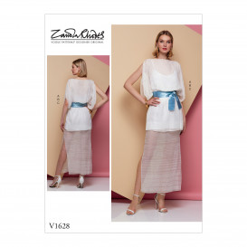 patron occasion spéciale robe Vogue V1628