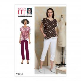 patron haut et pantalon Vogue V1630