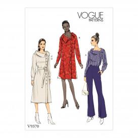 patron tunique et robe Vogue V9370
