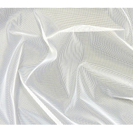 Coupon 0,44mx1,50m tissu moustiquaire blanc