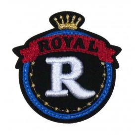 écusson blason royal thermocollant