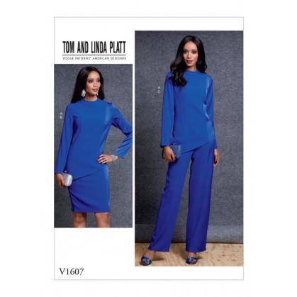patron haut, jupe et pantalon Vogue V1607