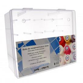 boite rangement pour cônes de fil 29,5x25x13,5cm