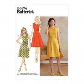 patron robe Butterick B6676