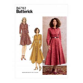 patron robe Butterick B6702