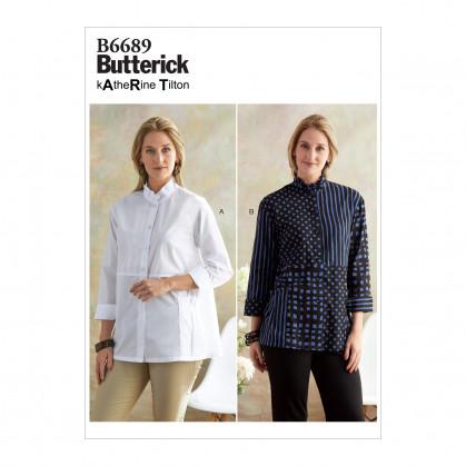 patron chemise très ample Butterick B6689