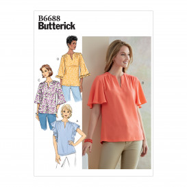 patron haut Butterick B6688
