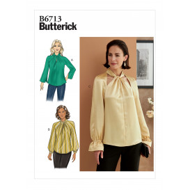 patron haut Butterick B6713