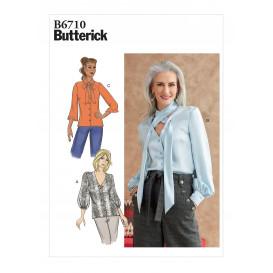 patron haut Butterick B6710