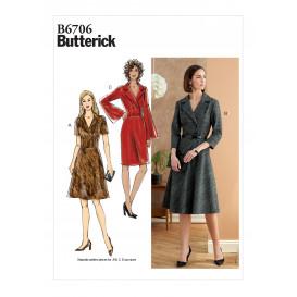 patron robe Butterick B6706