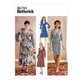 patron robe Butterick B6703
