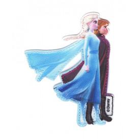 écusson disney elsa et anna la reine des neiges 2 thermocollant