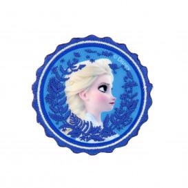 écusson disney elsa la reine des neiges 2 rond thermocollant