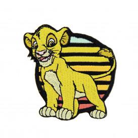écusson disney le roi lion simba thermocollant