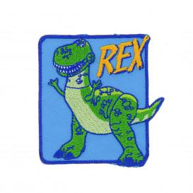 écusson disney toy story rex thermocollant
