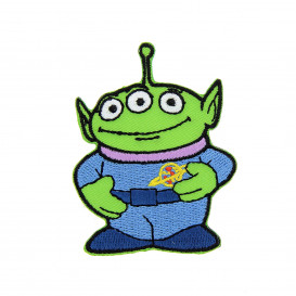 écusson disney toy story alien thermocollant