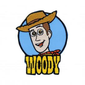 écusson disney toy story tête de woody thermocollant