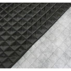 coupon  0.48m x 1,47m tissu stenzo popeline vert carrés et ronds