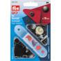 10 boutons pression métal anorak 15mm avec outil