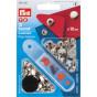 10 boutons pression métal anorak 12mm avec outil