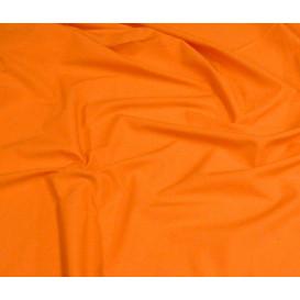 tissu coton uni orange clair largeur 150cm x 50cm
