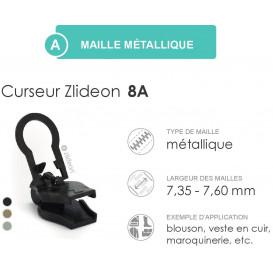 curseur ZlideOn 8A pour fermeture métal