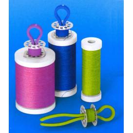 porte canettes plastique pour bobines de fil à l'unité