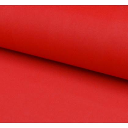 coupon patchwork imprimé fleurs rouges