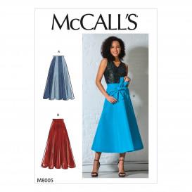 patron jupes McCall's M8005