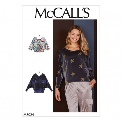 patron haut McCall's M8024