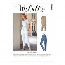 patron pantalon McCall's M8045