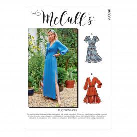 patron robes McCall's M8035