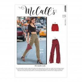 patron short et pantalon McCall's M8057