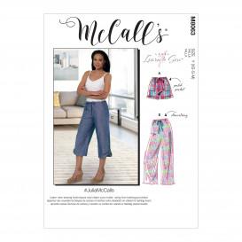 patron short et pantalon McCall's M8063