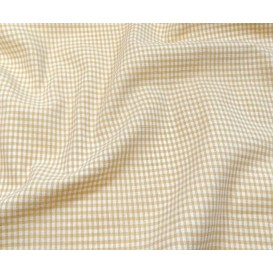 coupon coton vichy 2mm beige
