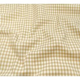 coupon coton vichy 4mm beige