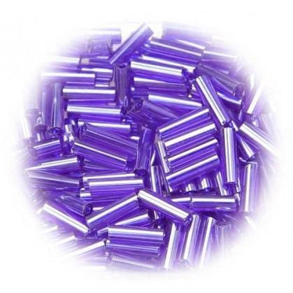 perles de verre batonnet violet 15 gr