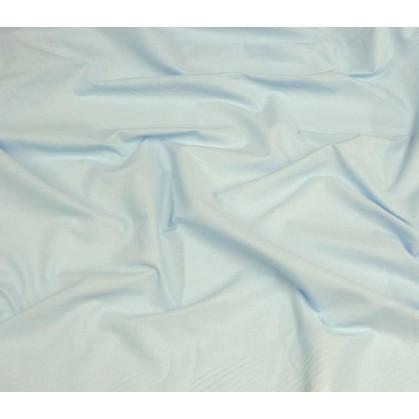 coupon coton uni bleu clair
