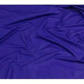 coupon coton uni bleu roi