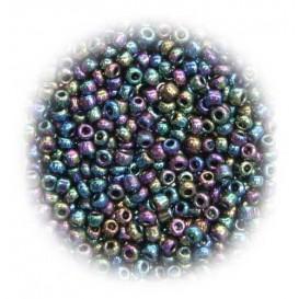 perles de verre ronde moire 15 gr