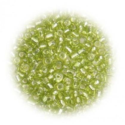 perles de verre tranparent anis 15 gr