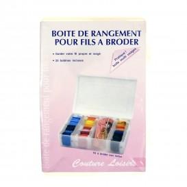 BOITE DE RANGEMENT POUR FILS A BRODER